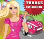Barbie Avtomobilde Eylence