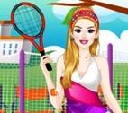 Barbie Ellie Tennis Hazırlığı