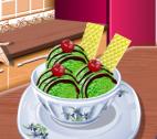 Yaşıl Çaylı Dondurma